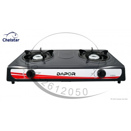 Dapor Double Burner Table Top Stove / Gas Cooker (D-6500Y)