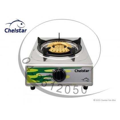 Chelstar Stainless Steel Single Burner Table Top Stove / Gas Cooker (SE-13K)
