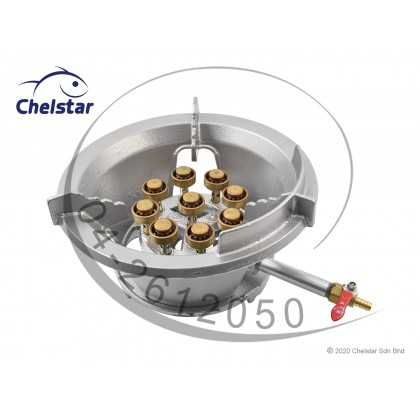 Chelstar Low Pressure Commercial Cast Iron Gas Cooker / Stove (B9)