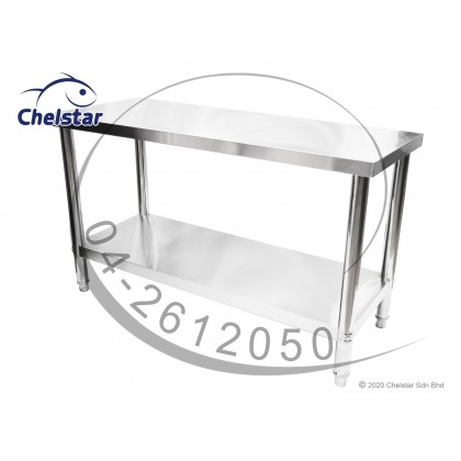 Chelstar Stainless Steel Working Table / Burner Stand (CWT-9004)