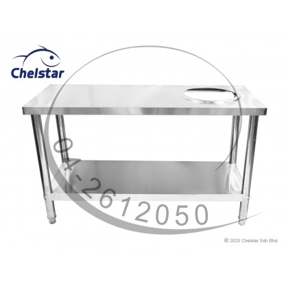 Chelstar Stainless Steel Working Table / Burner Stand (CWT-100)