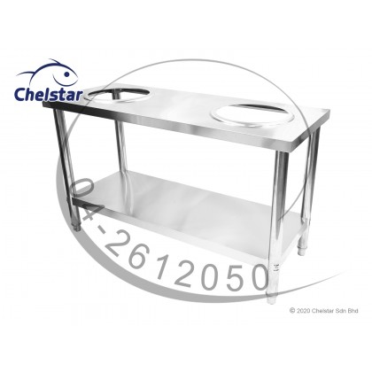 Chelstar Stainless Steel Working Table / Burner Stand (CWT-200)