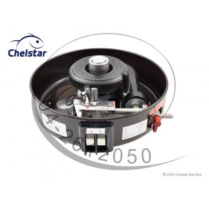 Chelstar 15 Liter Commercial Gas Rice Cooker / Stove (GRC-15M)