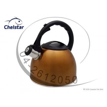 Hoffavorer 3L Whistling Stainless Steel Kettle (HF-1183)