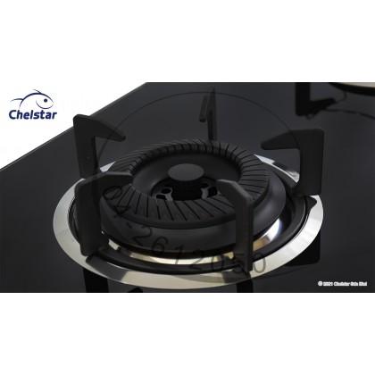 Chelstar Double Burner Built-in Glass Hob (CGH-866J)
