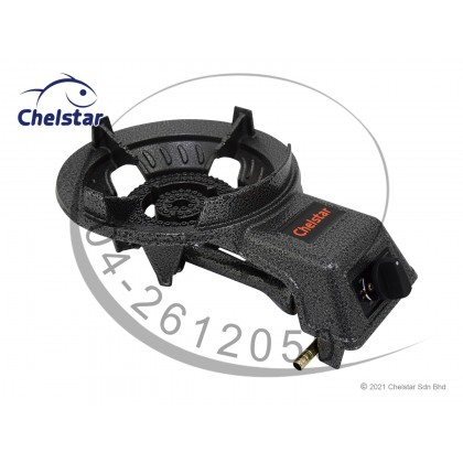 Chelstar Low Pressure Auto-Ignition Cast Iron Gas Cooker / Stove (A-400)